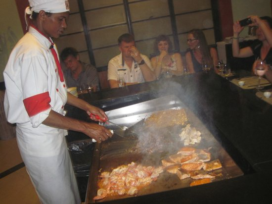 Grand Bahia Principe Bavaro : Restaurante Maiko