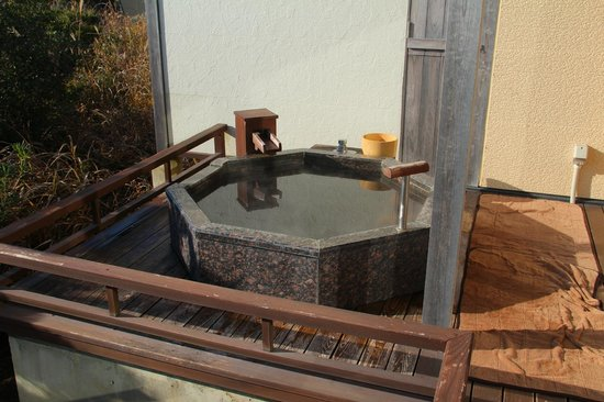 Umi to Mori : 部屋にある露天風呂