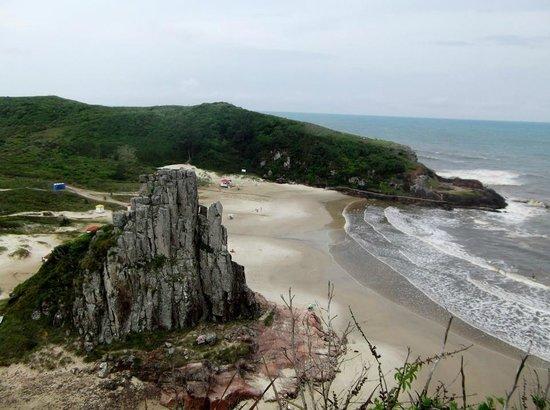 Praia Guarita: Praia da guarita