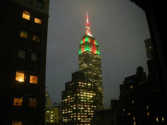 IBEROSTAR 70 Park Avenue Hotel: L'Empire visto dalla nostra camera