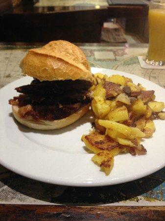 Schweine Janes: Pork Roll and Roast Potatoes