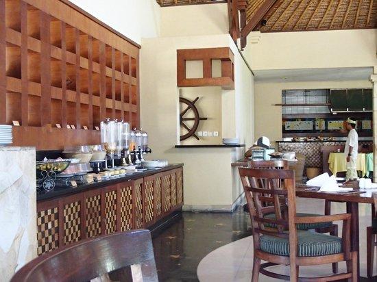 Pool Villa Club Senggigi Beach Lombok: Pool Villa Breakfast area