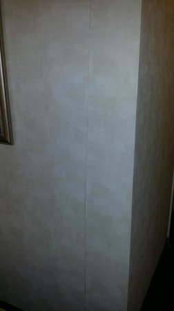 DoubleTree by Hilton Kansas City - Overland Park : Cracked wallpaper