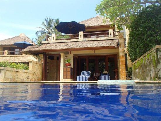 Pool Villa Club Senggigi Beach Lombok: From pool looking into our villa