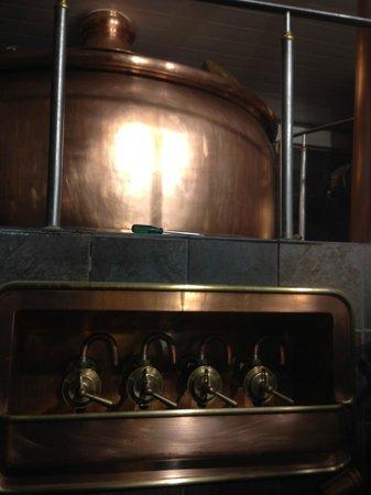 Hausbrauerei zum Schlussel : The Brewery 2