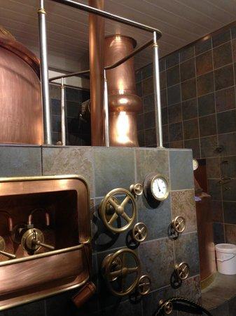 Hausbrauerei zum Schlussel : The Brewery