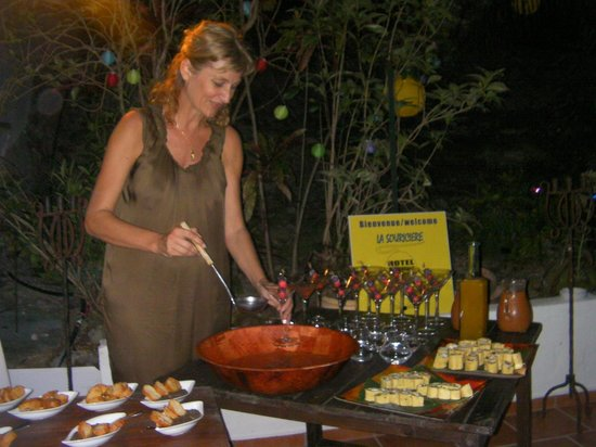Le M Hotel Marie Galante: le cocktail du soir