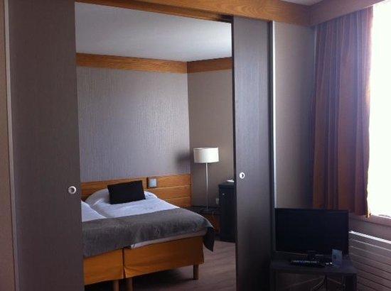 Aparthotel Adagio Paris XV : la camera da letto