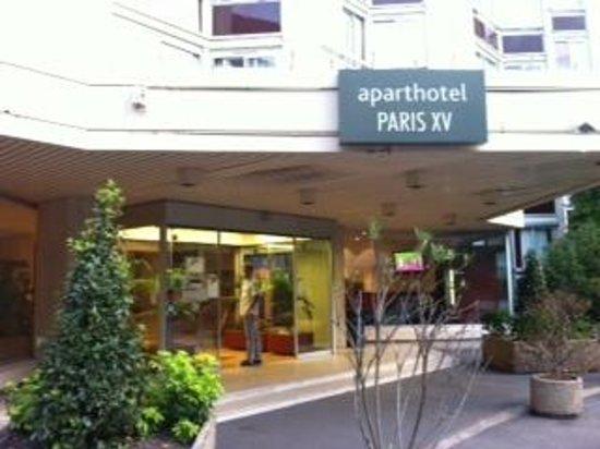 Aparthotel Adagio Paris XV : ingresso