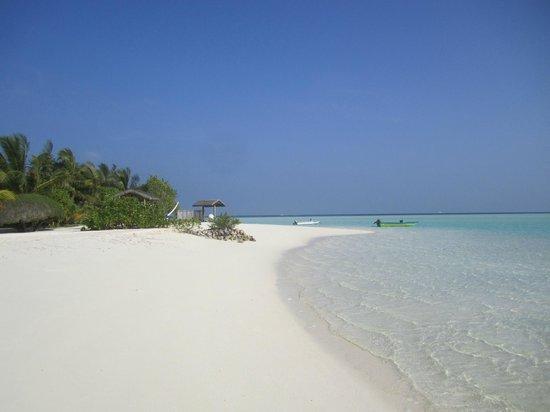 Rihiveli by Castaway Hotels & Escapes : Une des plages !