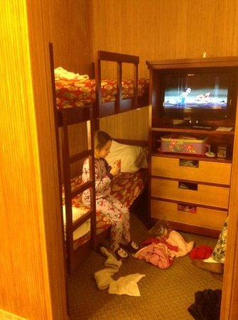 Maui Sands Resort & Indoor Waterpark: bunk room