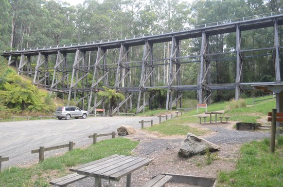 Noojee - Trestle Bridge picnic tables
