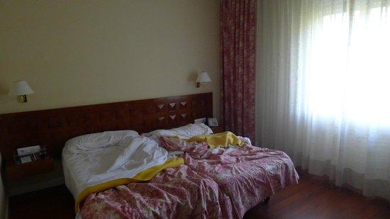 Balneario Termas Pallares - Hotel Parque: Camas habitación Termas Pallarés Hotel el Parque