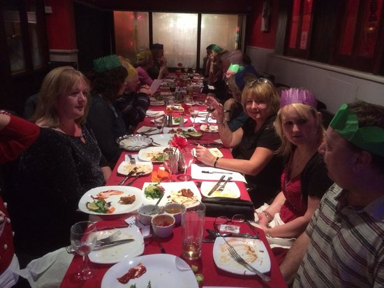 Cambridge Food & Wine Society: Our Xmas party