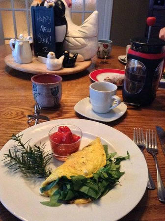 Wine Country Bed & Breakfast: Delicious!