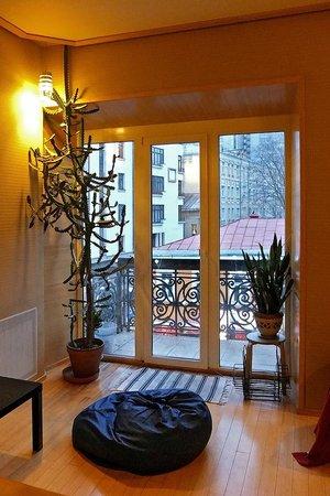 Davydov Hostel: Гостиная