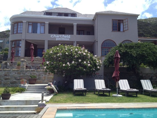 Chartfield Guest House: Poolside View