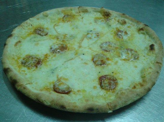 Moulin Blanc Pizzeria Ristorante: pizza