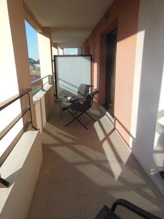 Golden Tulip Villa Massalia: le balcon !