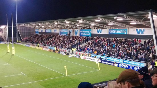 Salford City Stadium: The Home stand  ( South)