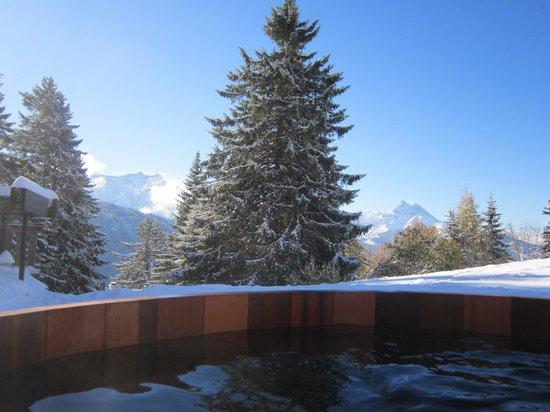 Les Trois Ours : Autre vue du spa