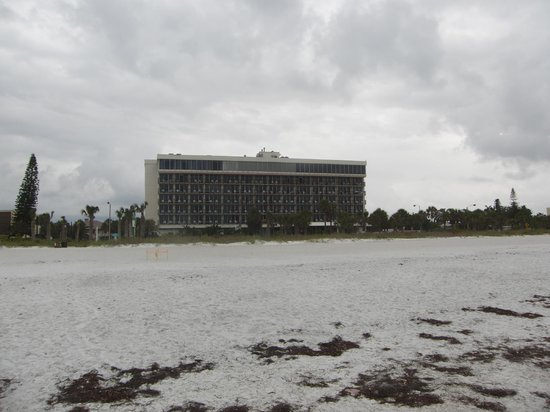 Holiday Inn Sarasota - Lido Beach : l'Hotel dalla spiaggia