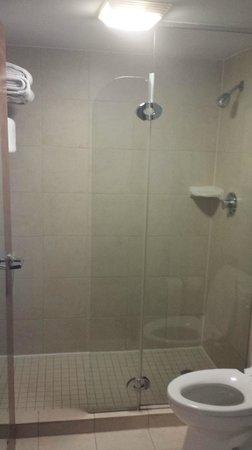 Hyatt Place San Antonio Airport/Quarry Market : Walk in shower