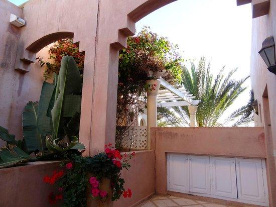 Riad des Golfs: jardin