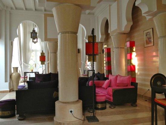 Riad des Golfs : salon