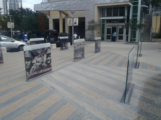 Tampa Bay History Center: outside main door