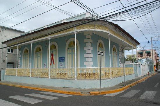 Malecon Puerto Plata : maison victorienne