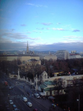 InterContinental Wien : Room view