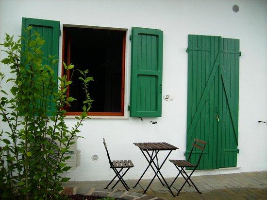 Residence le Ali del Conero: la corte privata