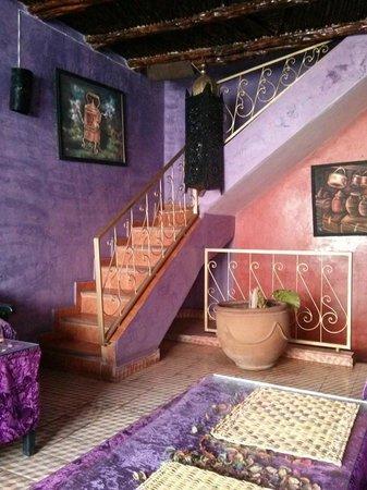 Four Seasons of Mogador : Rich purple velvet