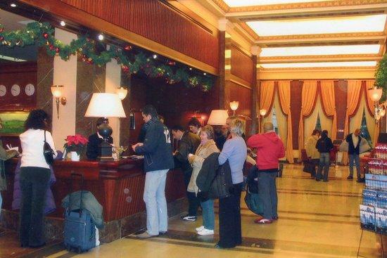 Hotel International Prague: Reception