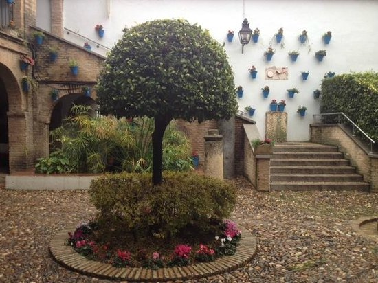 Jewish Quarter (Juderia): андалузский дворик