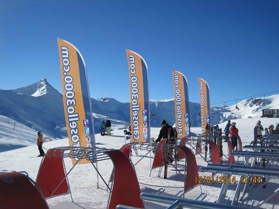 Hotel Valtellina: Med liften til toppen