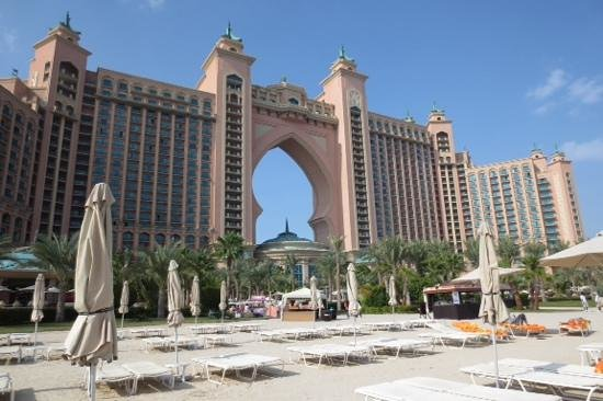 Atlantis, The Palm: View from the pool