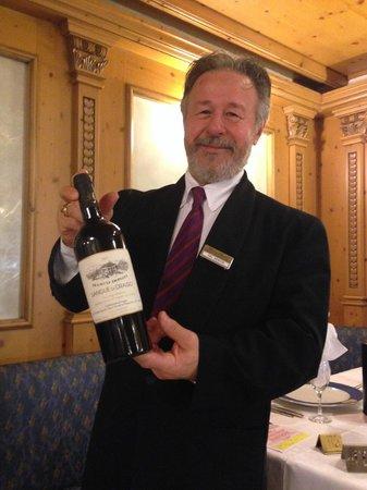 Park Hotel & Club Diamant: Отличное вино и приветливый администратор