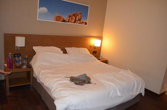 Hyatt Place Hampi : King size bed