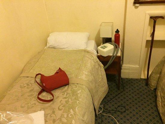 Saint Simeon : Single bed Room 4