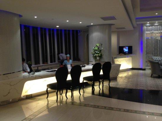 Chillax Resort: reception