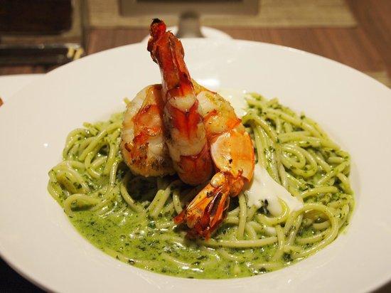 Tito Chef Restaurant: Pesto Prawn Spaghetti