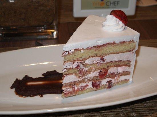 Tito Chef Restaurant: sickeningly sweet Strawberry Shortcake