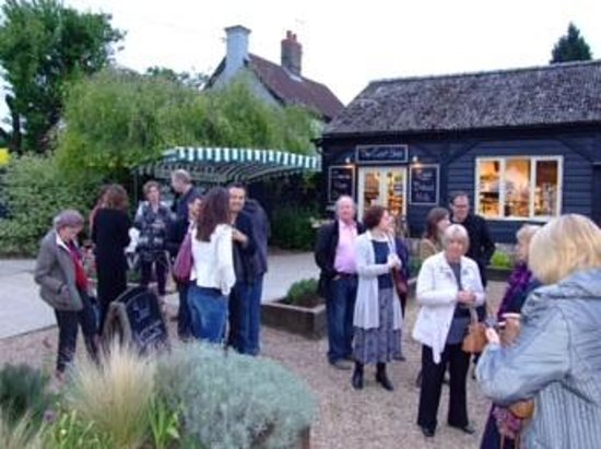 Cambridge Food & Wine Society: An inspiring evening of food at May's event at the Gog Magog farm shop
