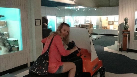 Museo Canterbury: Дайте порулю