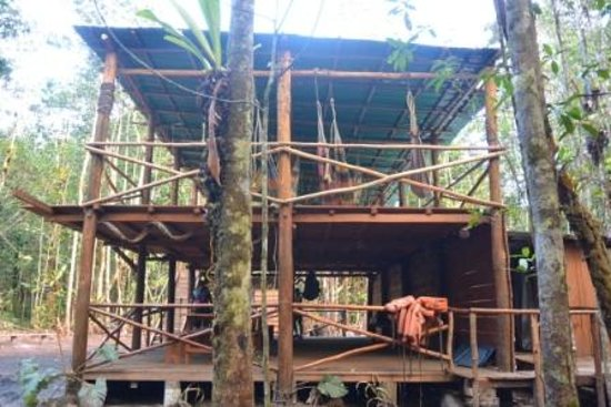 Tapuy Lodge : camp near Angel falls