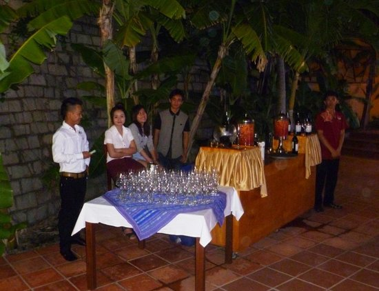 White Sands Resort: Member of the staff, Christmas '13