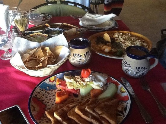 Sharky's Mesquite Grill : Breakfast