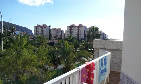 Checkin Bungalows Atlantida: Utsikt mot havet